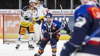 Fredrik Pettersson gelang früh im zweiten Drittel das 2:0 für die Lions