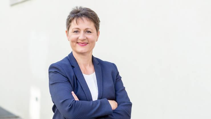 Will für die SVP in die Aargauer Regierung: Franziska Roth.