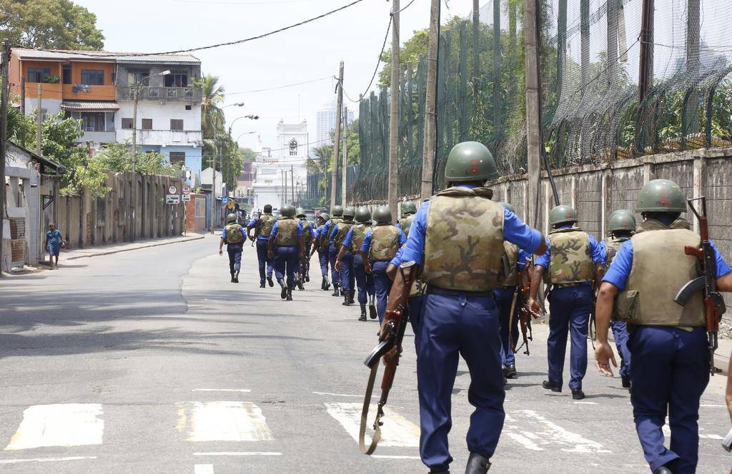 Tödliche Explosionen in Sri Lanka