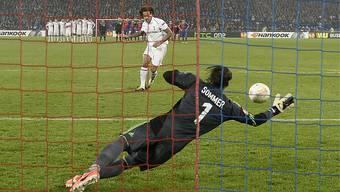 Goalie Yann Sommer war in dieser Saison ein überragender Penalty-Killer