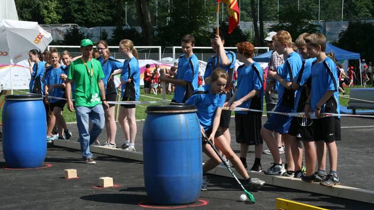 Vereinswettkampf Jugend mit Hubersdorf. Foto: mvd