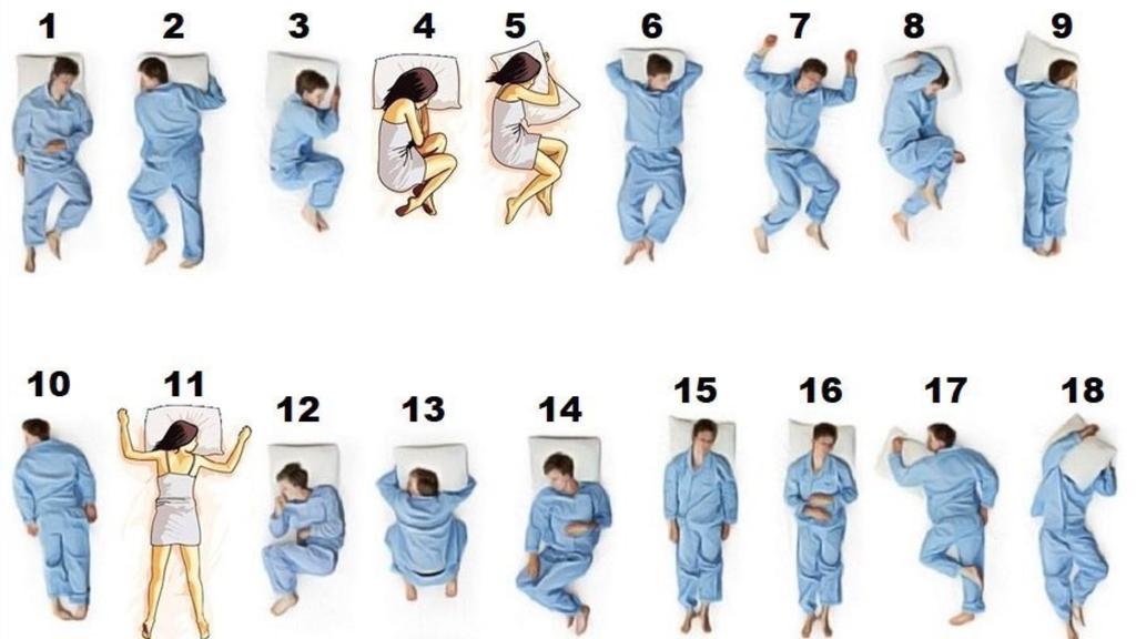 In welcher Position schläfst du?