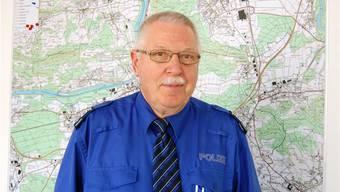 Werner Rimann hat als Regionalpolizeichef «immer den guten Mittelweg gefunden». HH.