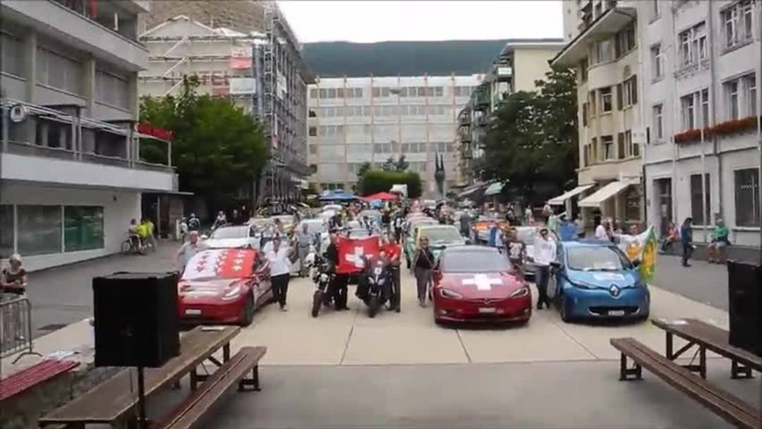 Elektromobil-Rally WAVE 2019 in Grenchen