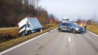 Der Unfallort.