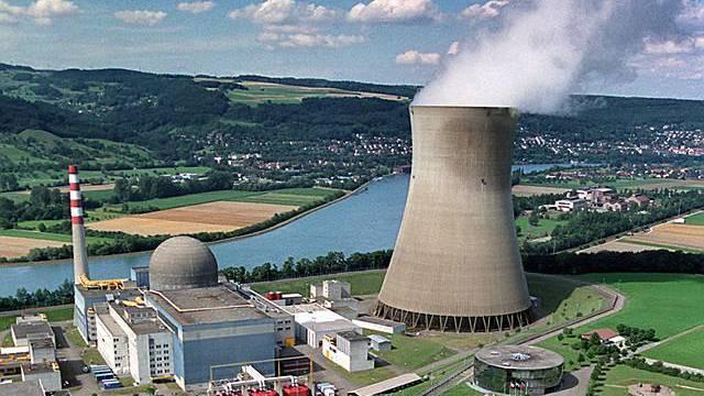 Das Kernkraftwerk Leibstadt im Aargau