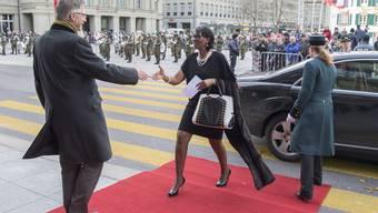 Neujahrsempfang der Diplomaten im Bundeshaus 2016