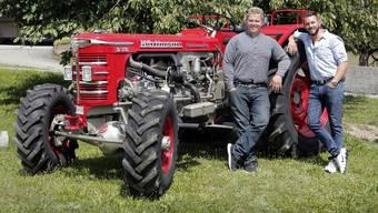 Lüschers aus Bellach sammeln und restaurieren alte Traktoren