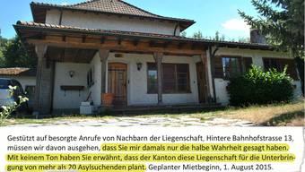 Verärgert schreibt SVP-Vizeammann Meinrad Schraner im Namen des Gemeinderats von Laufenburg einen offenen Brief an Regierungsrätin Susanne Hochuli – wenig später ist er auf der Geminde-Webseite wieder gelöscht.