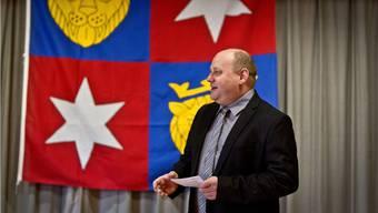Am Neujahrsapero war Valentin Schmid noch Gemeindeammann, künftig ist er Gemeindepräsident.