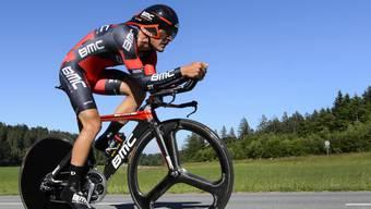 Silvan Dillier am Mittwoch auf dem Weg zu seinem überlegenen Zeitfahr-Triumph
