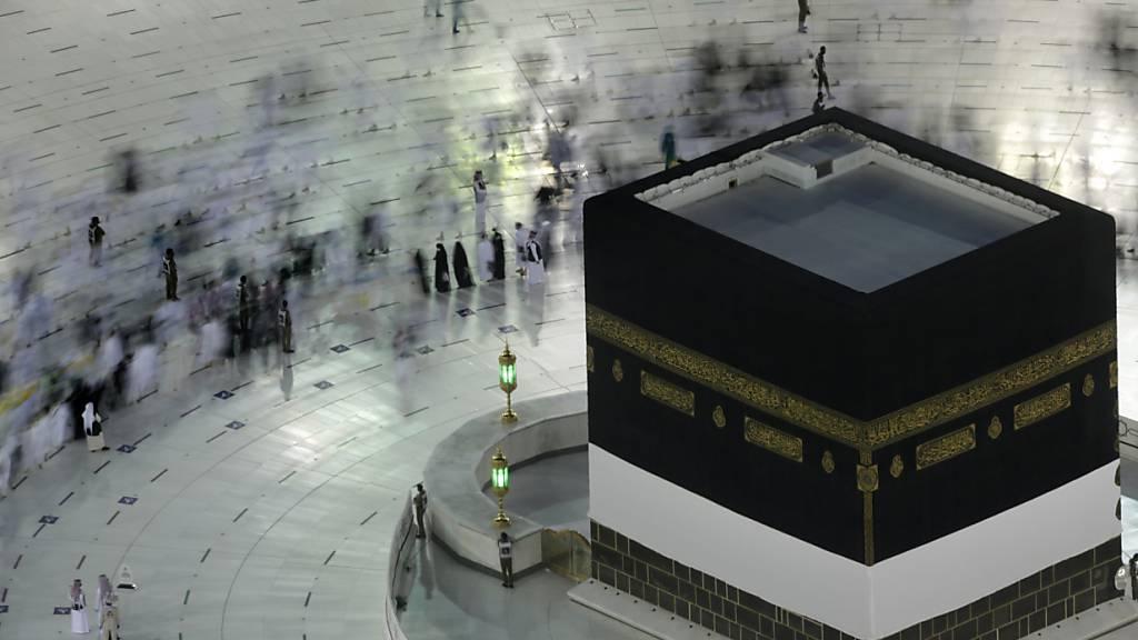 Tausende Pilger beginnen Wallfahrt Hadsch in Saudi-Arabien
