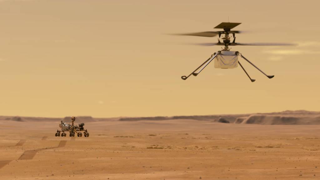 «Ingenuity»: Der erste Helikopter-Flug auf einem anderen Planeten