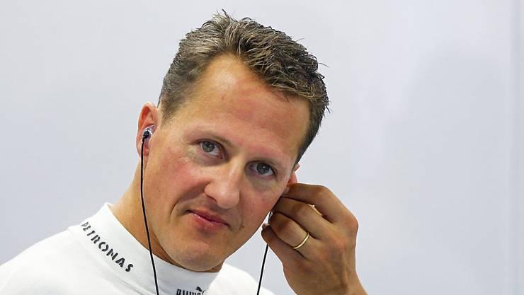 Der schwer verunfallte deutsche Formel-1-Weltmeister Michael Schumacher feiert am 3. Januar seinen 50. Geburtstag. (Archiv)