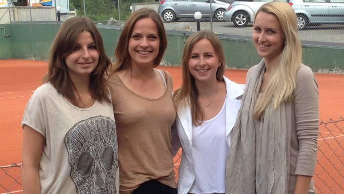 Die Damen-Equipe beim Tennisclub Rheinfelden wird nach dem 5:1-Erfolg im Berner Oberland auch in der kommenden Saison in der 1. Liga antreten.