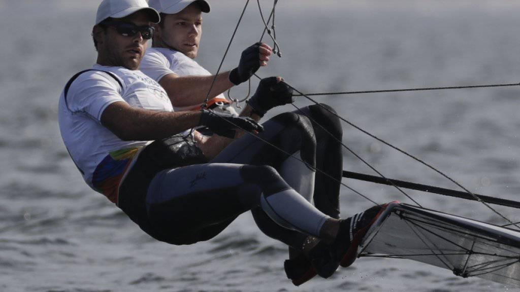 Lucien Cujean und Sébastien Schneiter sicherten den Quotenplatz