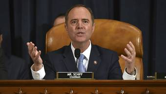 """Laut Adam Schiff, dem Ausschussvorsitzenden des Repräsentantenhauses, haben die Untersuchungen """"überwältigende und unbestrittene Beweise"""" zu Tage gefördert, dass Trump sein Amt missbraucht habe.(Archivbild)"""
