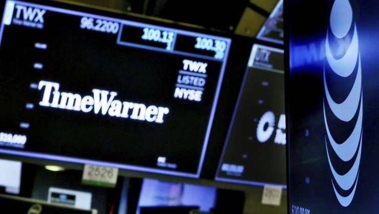Ob AT&T die Firma Time Warner wirklich kaufen durfte - ist wieder offen. Das US-Justizministerium zieht einen entsprechenden Gerichtsentscheid weiter. (Archivbild)