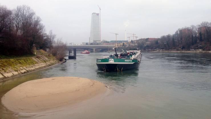 Schiffsunglück in Birsfelden: Verletzt wurde glücklicherweise niemand.