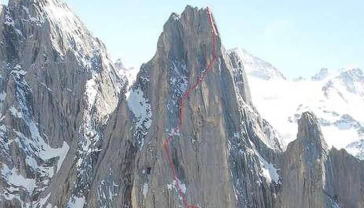 Die 2621 Meter hohe Kingspitz-Nordostwand war 1938 noch eine grosse alpinistische Herausforderung