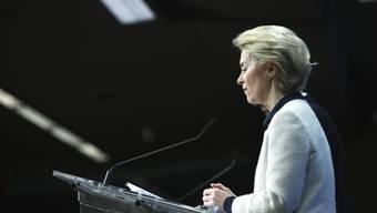 Muss eine neue Iran-Strategie finden: EU-Kommissionspräsidentin Ursula von der Leyen.