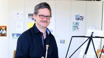 Nur in den Sommerferien bleibt die Trompete von Urban Bauknecht im Instrumentenkoffer.