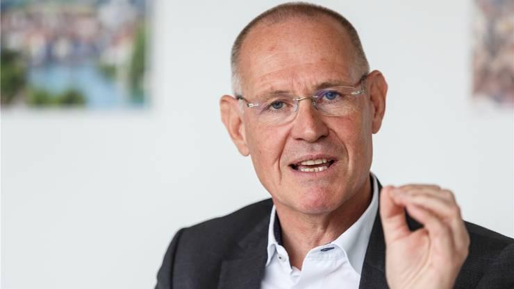 FDP-Mann Stefan Nünlist ist bisher ohne offizielle Unterstützung der Wirtschaftsverbände.
