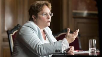 Viele Beobachter gehen davon aus, dass die SVP für die Nachfolge von Maurer mit EMS-Chefin Martullo (Bild) und SVP-Fraktionschef Thomas Aeschi antreten könnte.