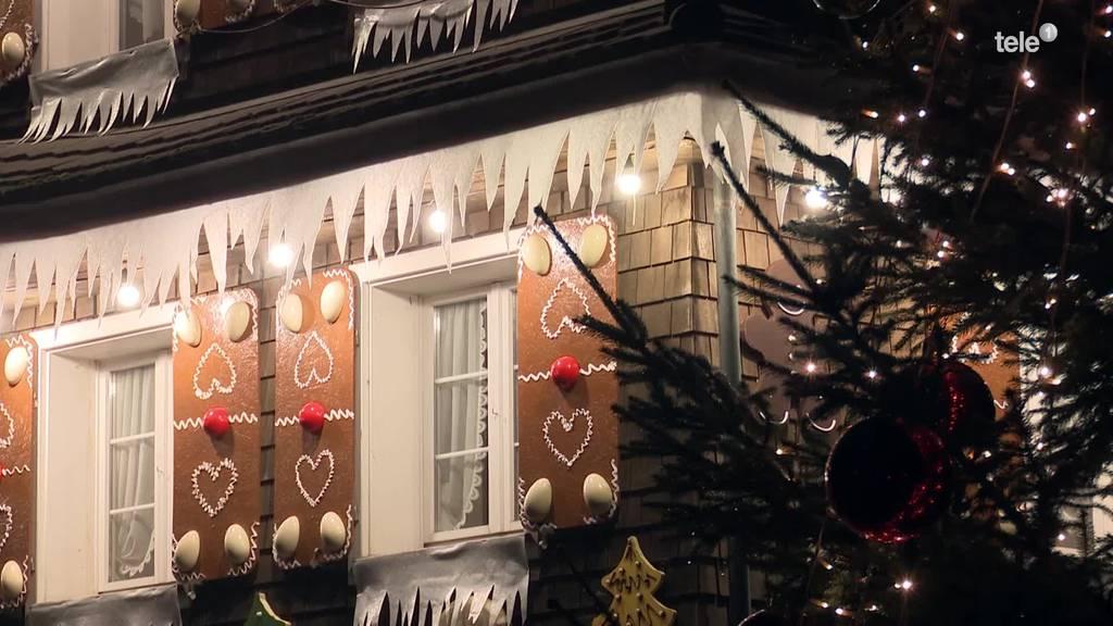 Emmer «Lebkuchenhaus» erstrahlt weihnachtlich