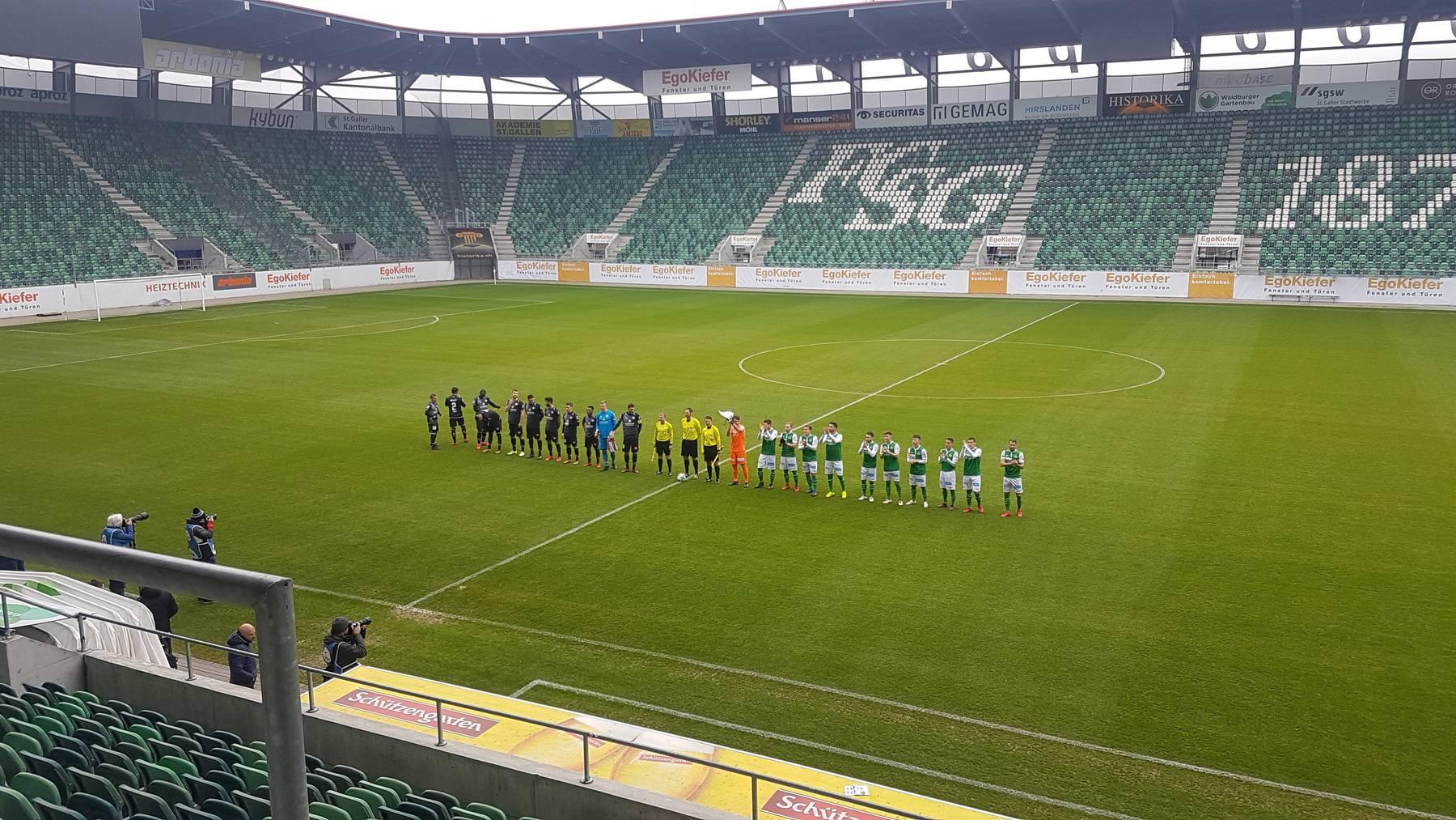 Der FC St.Gallen vermochte nicht zu überzeugen gegen Mainz und verlor 1:2.