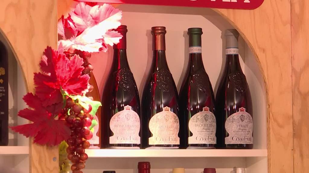 Die Weinausstellung EXPOVINA präsentiert sich bis zum 15. November beim Zürcher Bürkliplatz.