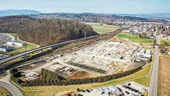 Auf dem rund 75000 Quadratmeter grossen Reichholdareal ist die Altlastensanierung mittlerweile abgeschlossen worden.