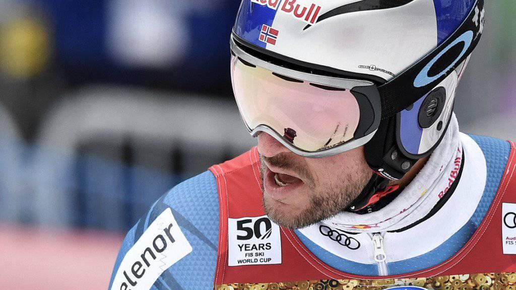 Gehörte in den Trainings in Wengen nicht zu den Besten: Aksel Lund Svindal