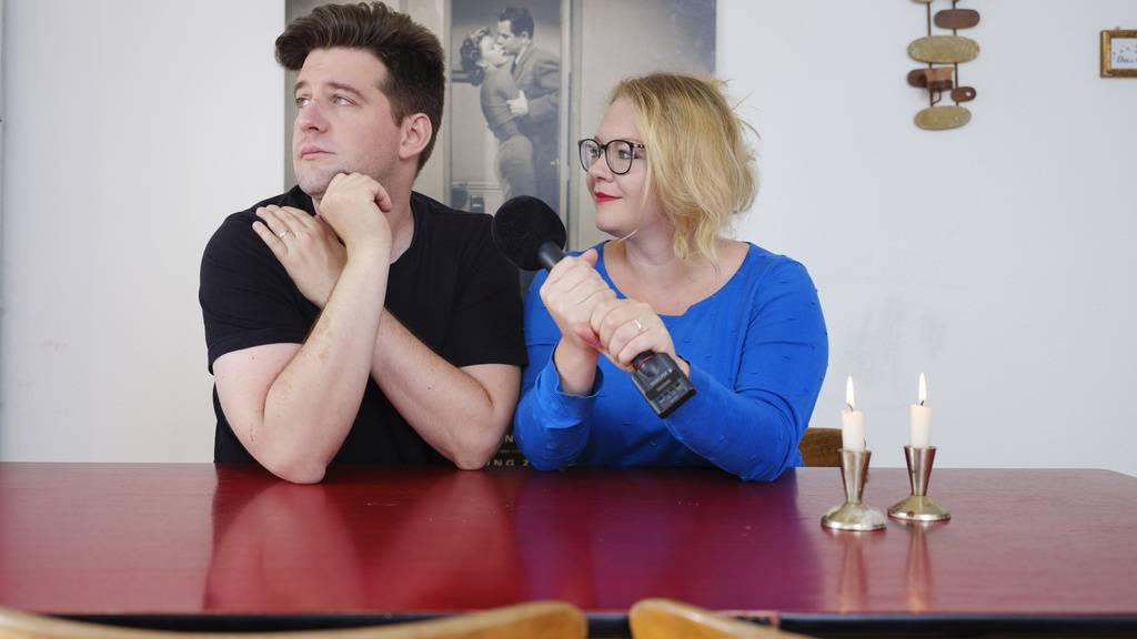Startete innerhalb von 24 Stunden den Podcast «Neulich bei Schauspielers»: Das Berner Schauspielerpaar Diego Valsecchi und Milva Stark.