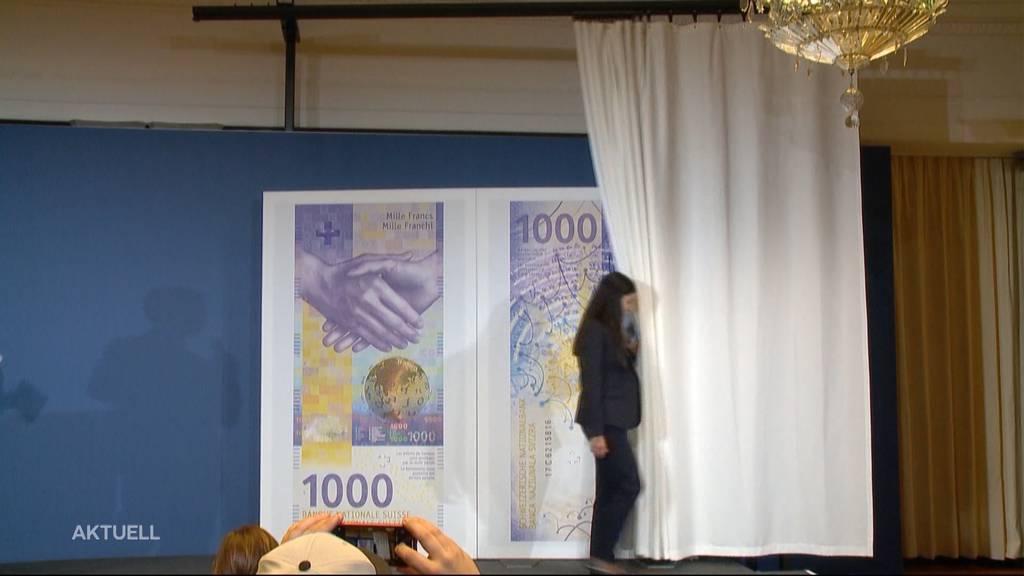 """Neue 1000er-Note: Wir nehmen das violette """"Nötli"""" unter die Lupe"""