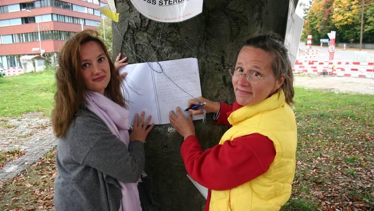Figen Özkizilirmak und Corina Hausherr Wildermuth