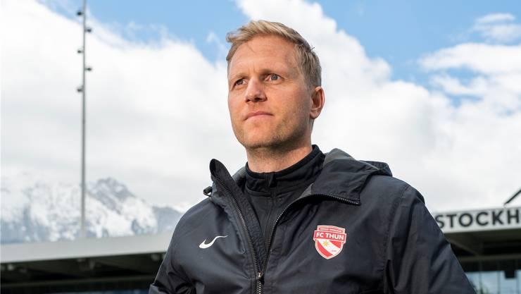 Geerdet, bodenständig, normal: Thun-Trainer Marc Schneider entspricht kaum einem Fussball-Klischee.