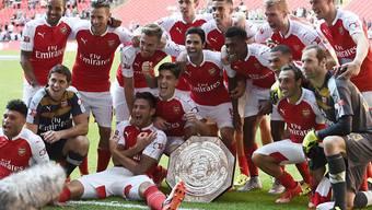 Arsenal feierte den ersten Titel der Saison
