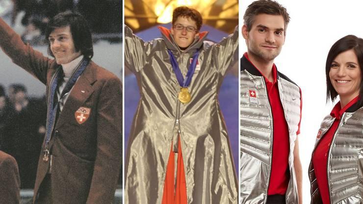 Olympia-Outfit im Wandel der Zeit