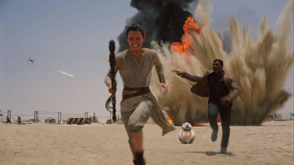 """Fans müssen sich gedulden: """"Star Wars: Episode VIII"""" kommt erst am 15. Dezember 2017 in die Kinos."""