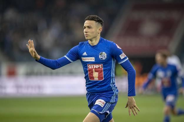 Ruben Vargas verlässt den FC Luzern und schliesst sich dem FC Augsburg an.