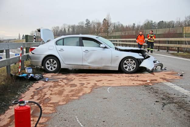 Verkehrsunfall in Kirchberg BE