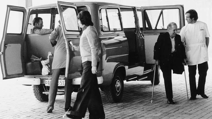 Im März 1974 trafen die ersten Patienten in Bellikon ein.