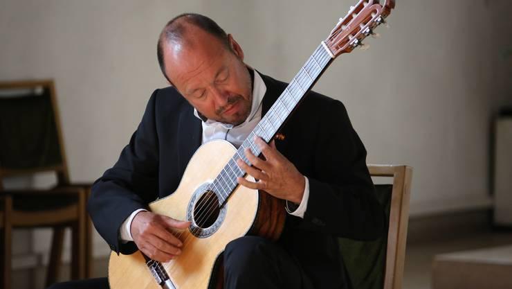 Michael Erni spielt am Mittwoch, 25. Januar, um 19 Uhr in der Music Hall der Kantonsschule Olten.