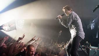 """""""Die Toten Hosen""""-Sänger Campino bei einem Auftritt in Sachsen im vergangenen Jahr. (Archivbild)"""
