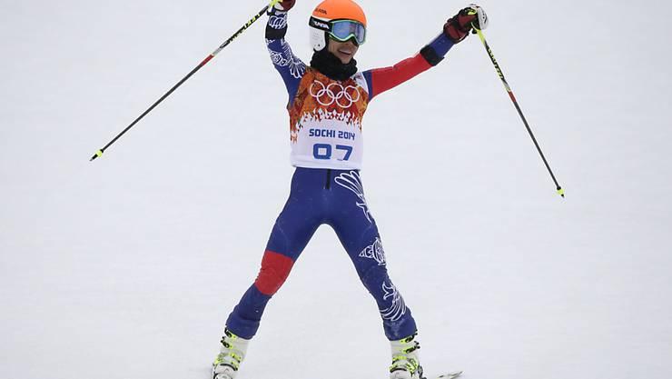 Vanessa-Mae nahm 2014 an den Olympischen Spielen in Sotschi teil. Die 37-jährige Stargeigerin beendete den Riesenslalom als 67. und Letzte