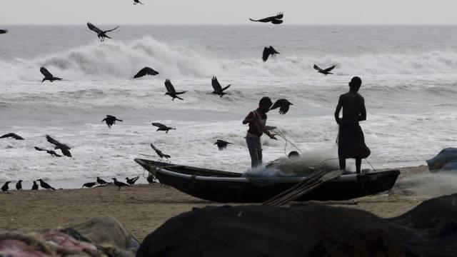 Fischer im indischen Bundesstaat Odisha (Archiv)