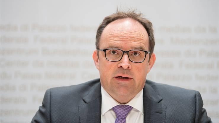 Thomas Fritschi, Leiter der Aufsichtsbehörde, empfiehlt eine Anpassung der Verordnung.