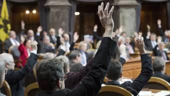 Im Ständerat ist das Abstimmen per Handzeichen Geschichte