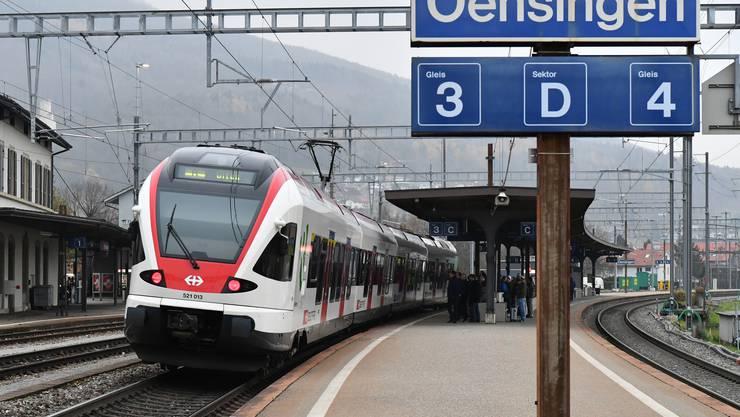 Das Komitee «Pro ÖV-Anschluss Thal-Gäu-Bipperamt-Oberaargau» setzt sich für die Einbindung des Knotens Oensingen in das Fernverkehrsnetz ein